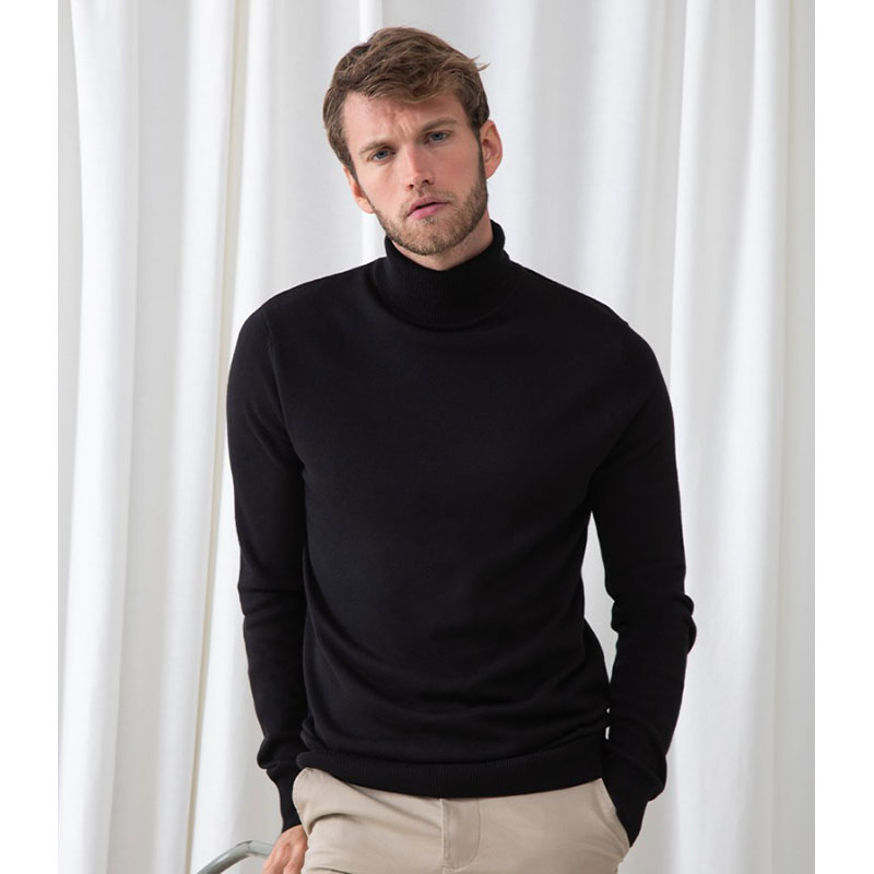 Henbury Roll Neck Sweater