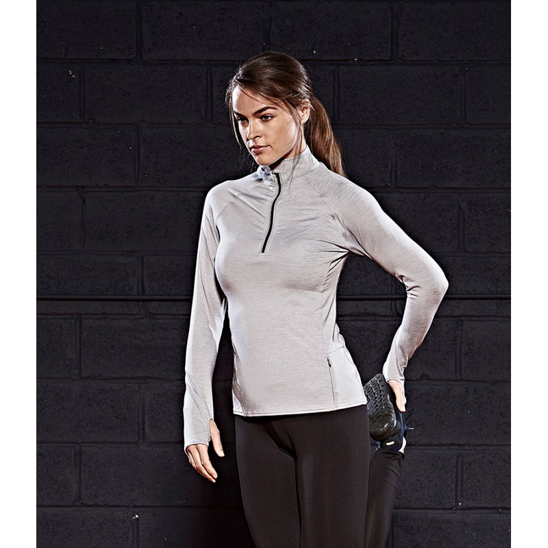 AWDis Ladies Cool-Flex™ Half Zip Top
