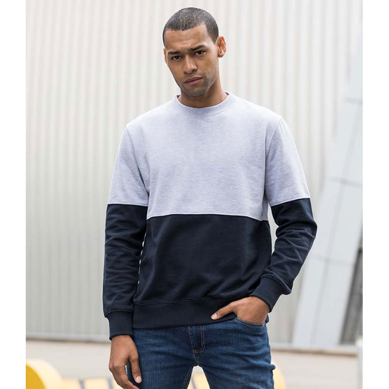 AWDis Colour Block Sweatshirt