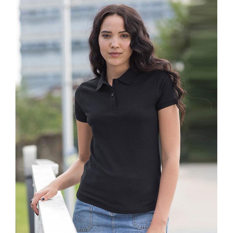 AWDis The 100 Cotton Ladies Piqué Polo Shirt