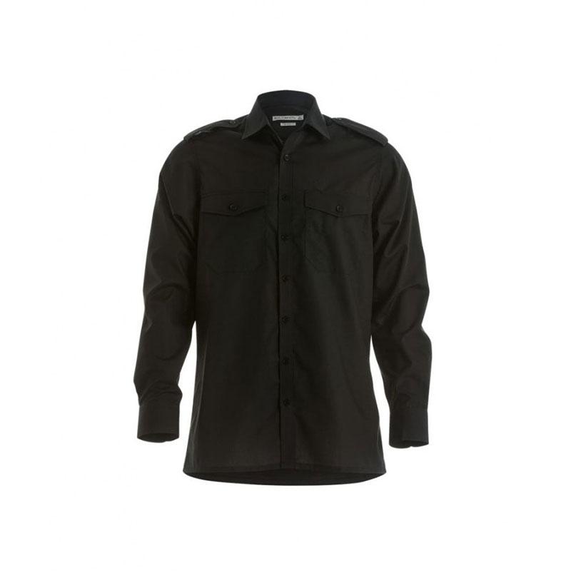 Kustom Kit Long Sleeve Tailored Pilot Shirt