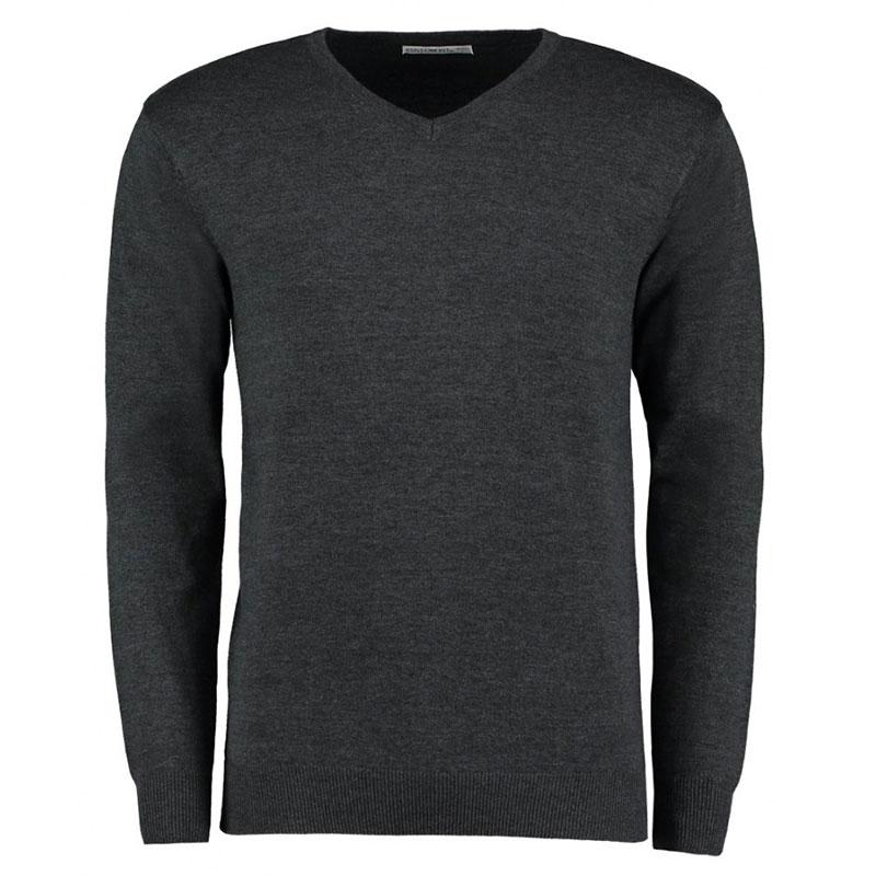 Kustom Kit Arundel Cotton Acrylic V Neck Sweater