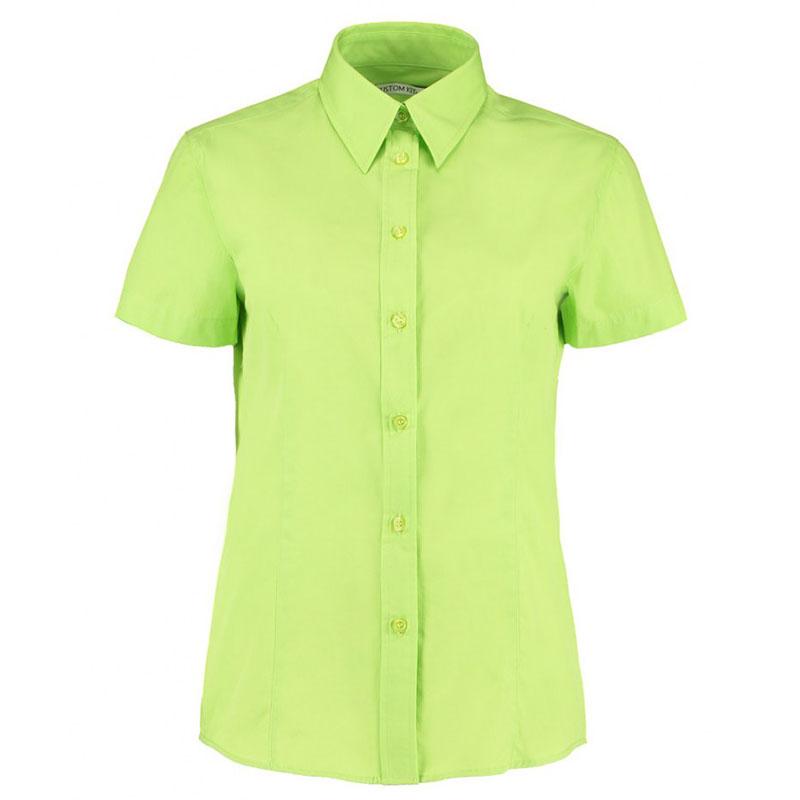 Kustom Kit Ladies Short Sleeve Classic Fit Workforce Shirt