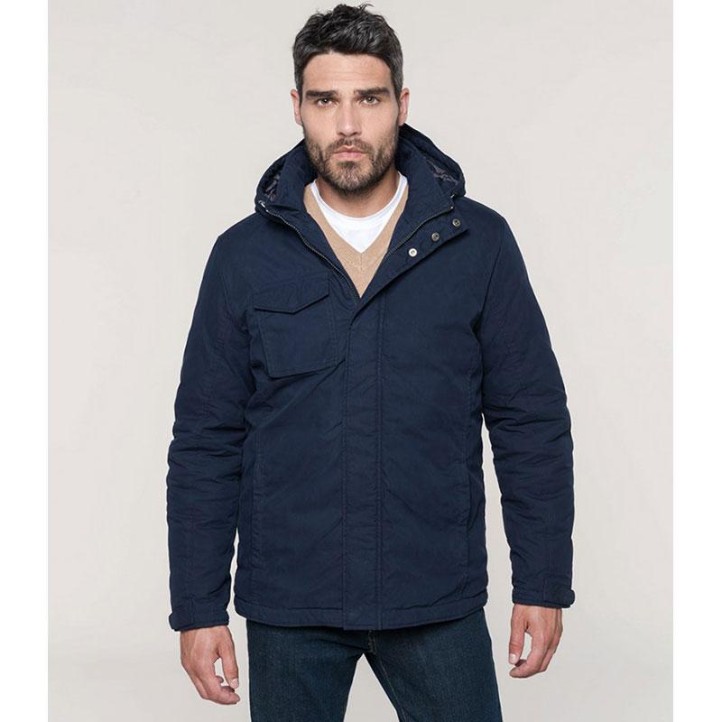 Kariban Hooded Parka Jacket