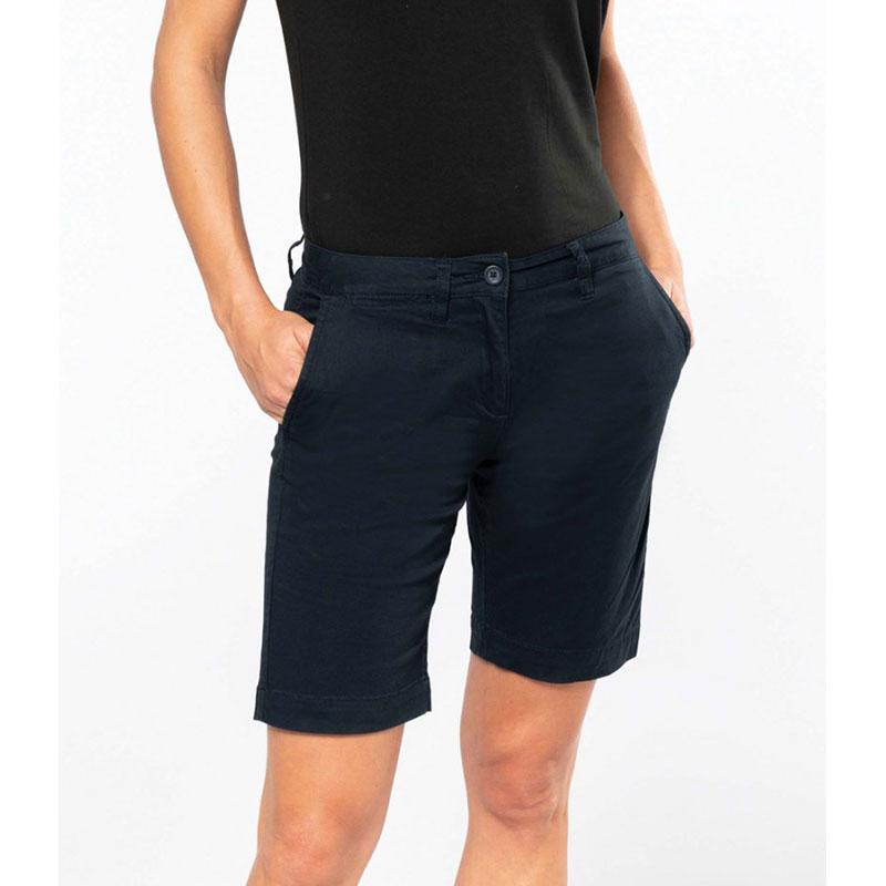 Kariban Ladies Chino Bermuda Shorts