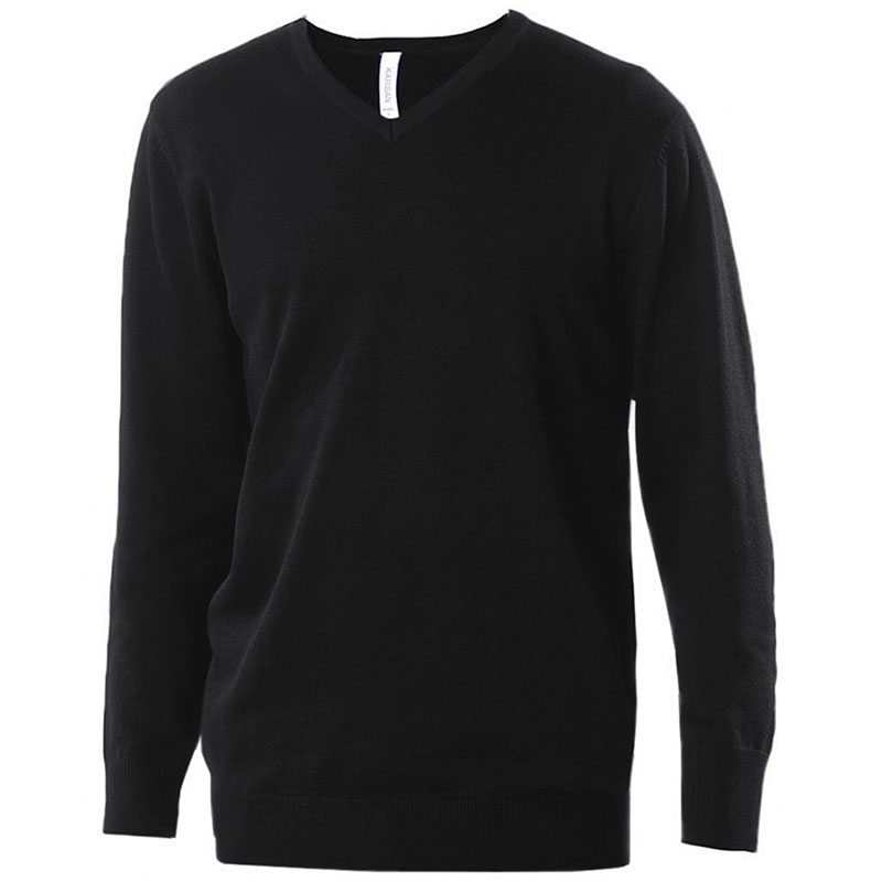 Kariban Cotton Acrylic V Neck Sweater