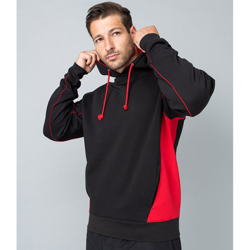 Finden and Hales Contrast Hooded Sweatshirt