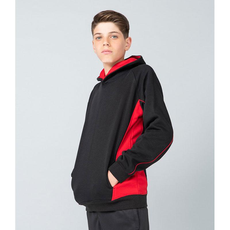 Finden and Hales Kids Contrast Hooded Sweatshirt
