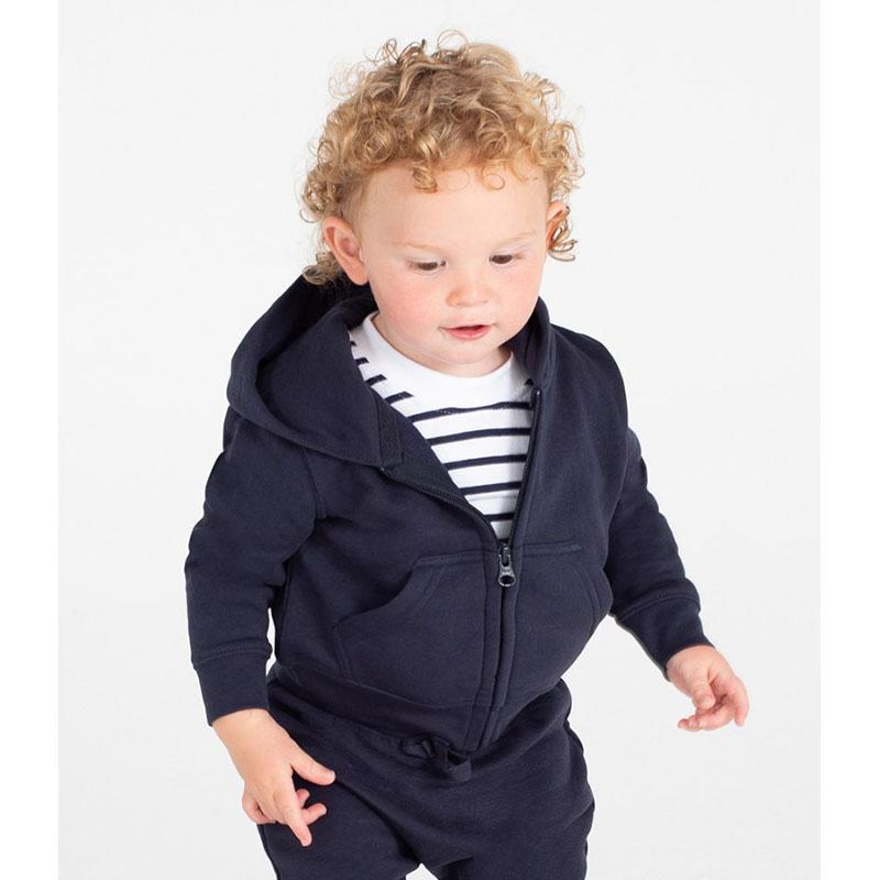 Larkwood Baby/Toddler Zip Hooded Sweatshirt