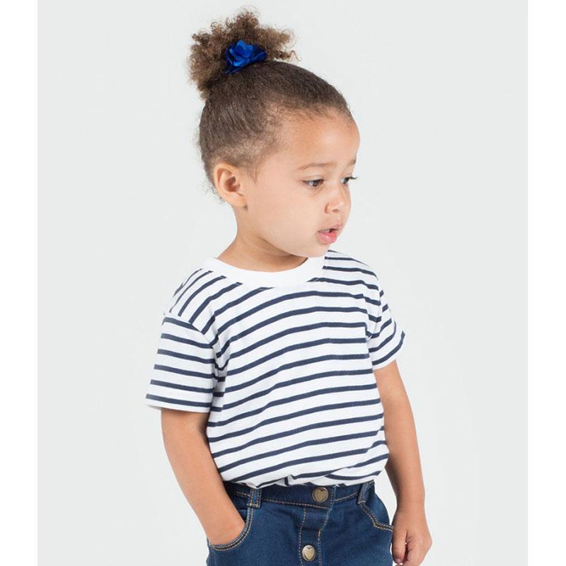 Larkwood Baby/Toddler Striped Crew Neck T-Shirt