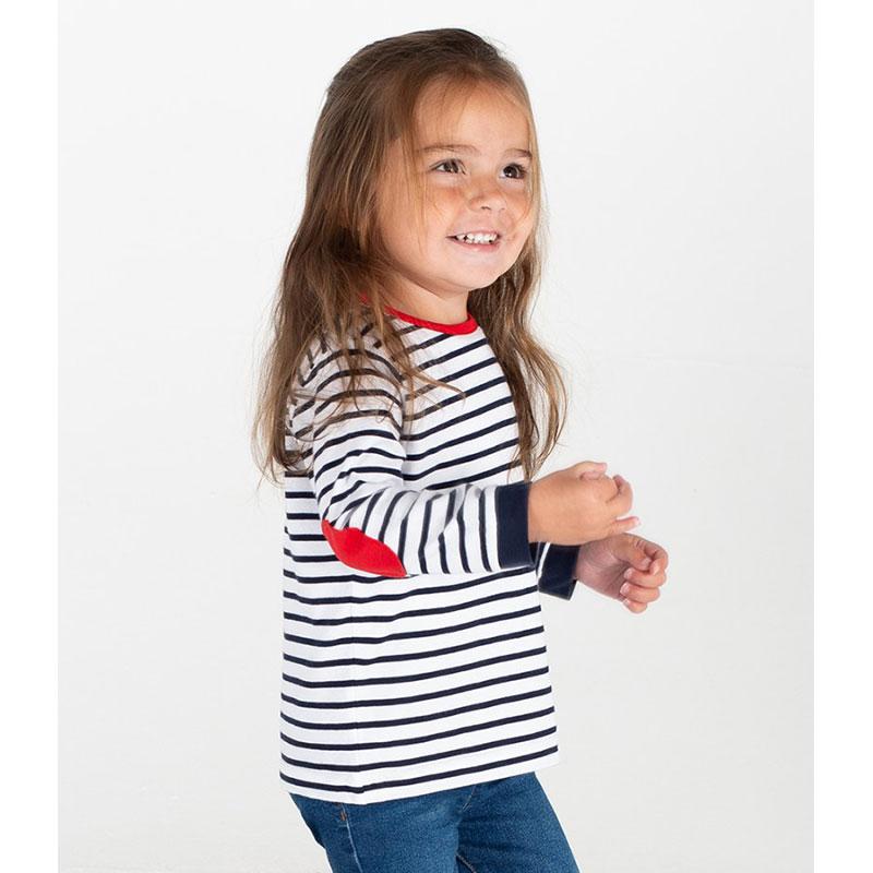 Larkwood Baby/Toddler Striped Long Sleeve T-Shirt