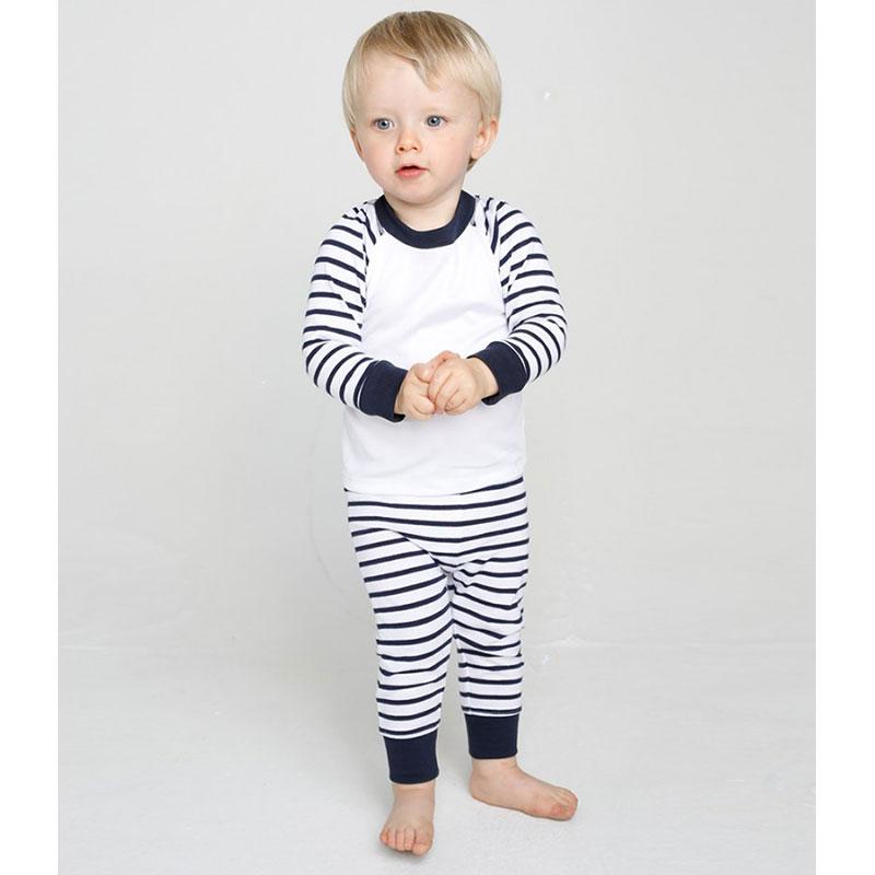 Larkwood Baby/Toddler Striped Pyjamas