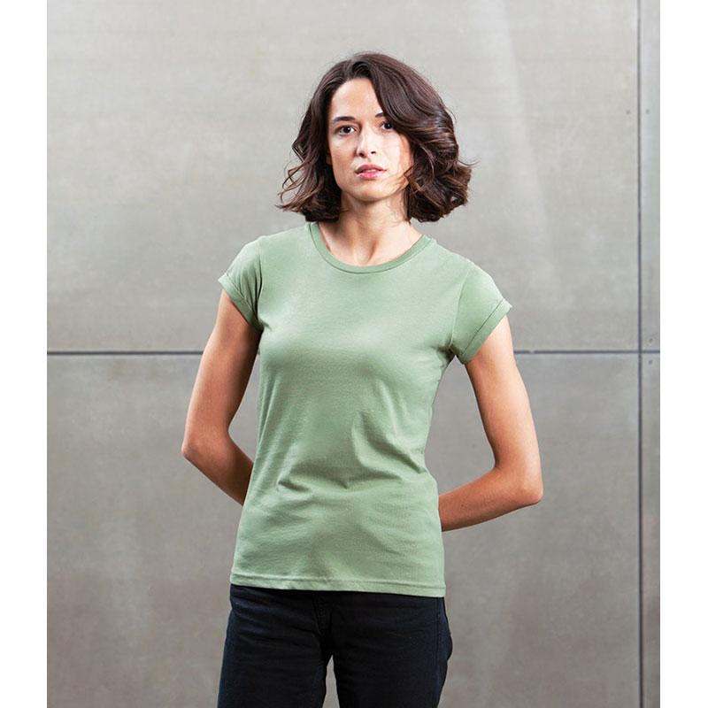Mantis Ladies Roll Sleeve T-Shirt
