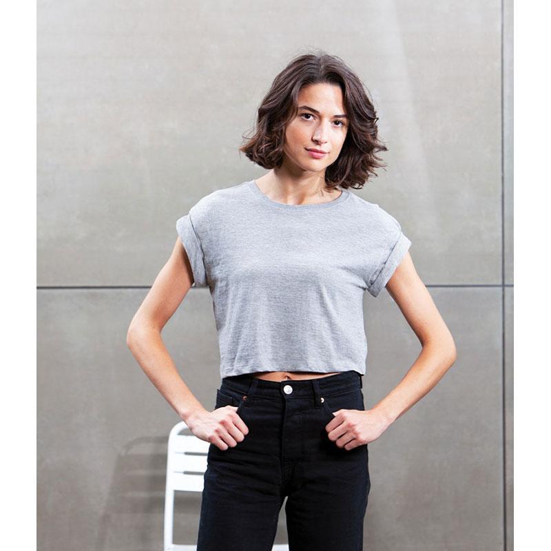Mantis Ladies Organic Cropped T-Shirt