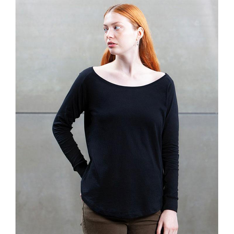 Mantis Ladies Loose Fit Long Sleeve T-Shirt