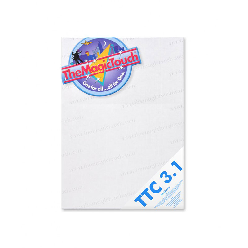 TheMagicTouch TTC 3.1 A4R Transfer Paper - 25 Sheets
