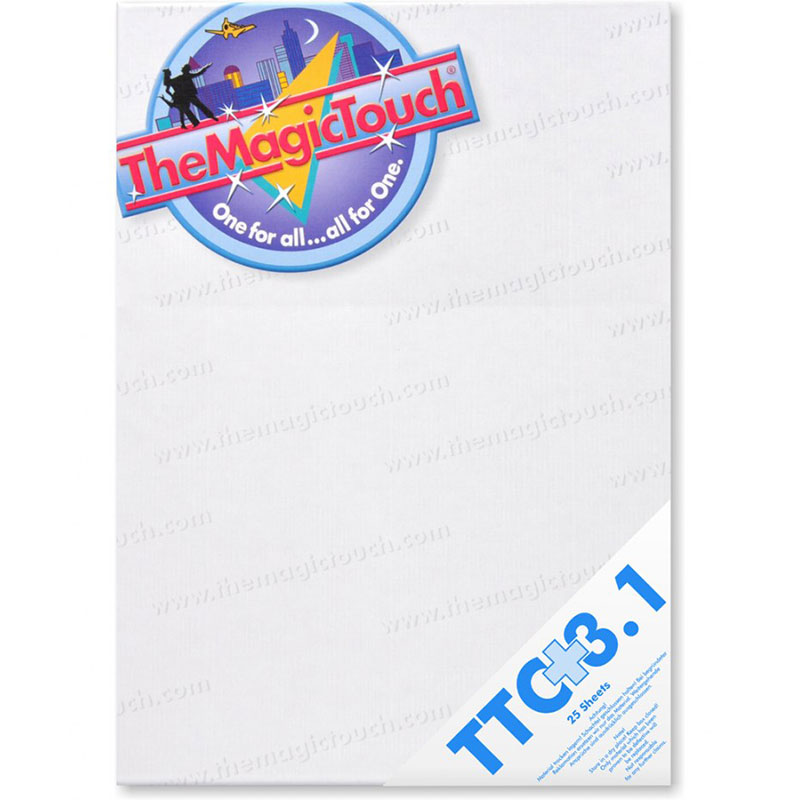 TheMagicTouch TTC 3.1+ A4R Transfer Paper - 25 Sheets