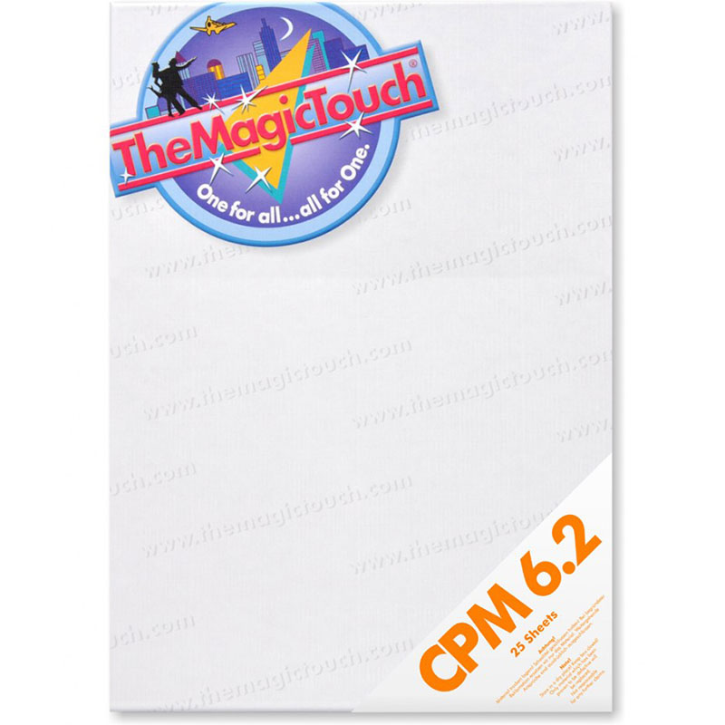 TheMagicTouch CPM 6.2 A4R Transfer Paper - 25 Sheets