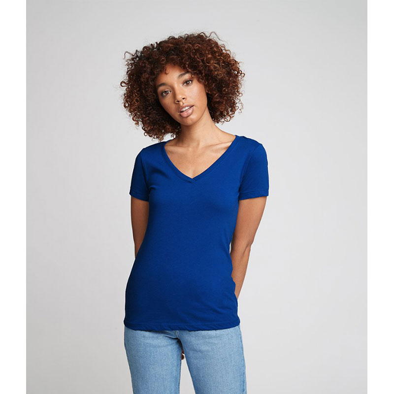 Next Level Ladies Ideal V Neck T-Shirt