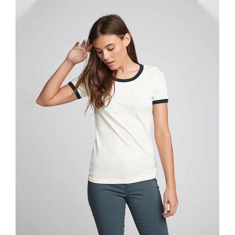 Next Level Unisex Cotton Ringer T-Shirt
