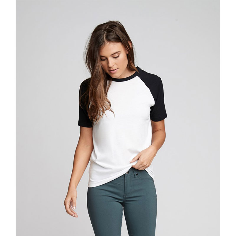 Next Level Unisex Contrast Cotton Raglan T-Shirt
