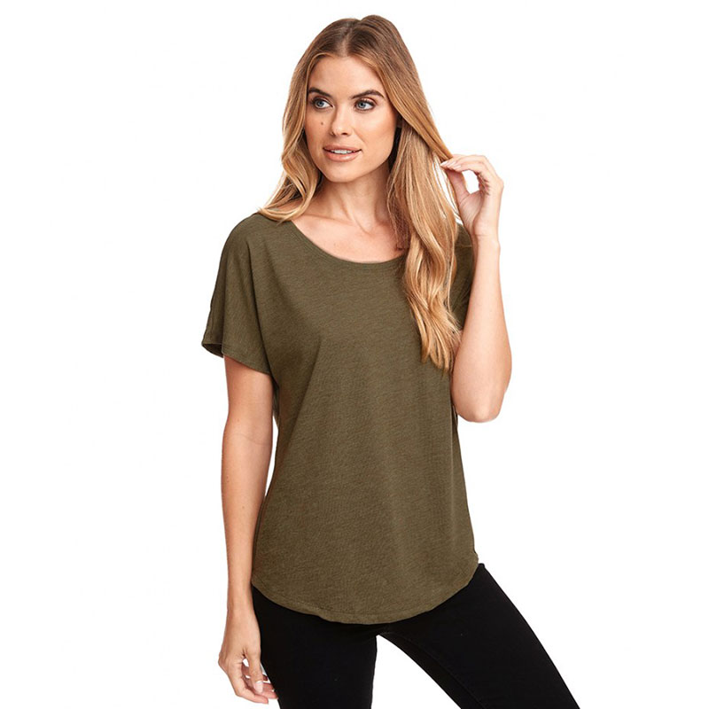 Next Level Ladies Tri-Blend Dolman T-Shirt