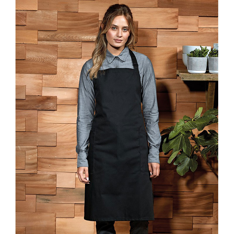 Premier Recycled and Organic Fairtrade Certified Bib Apron