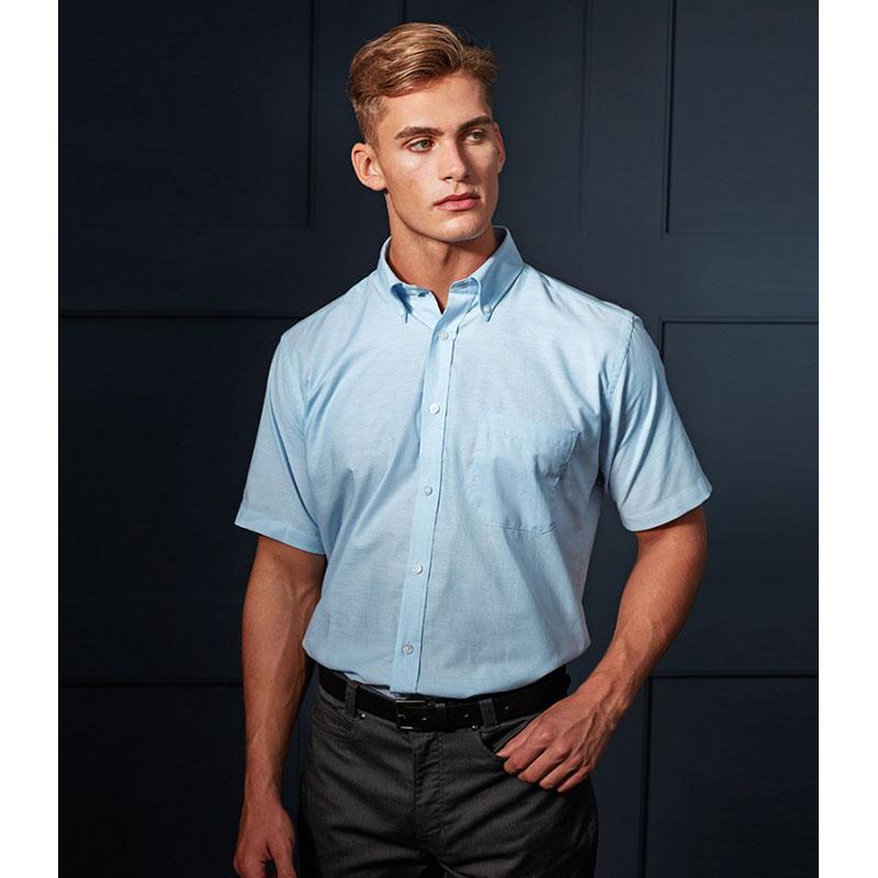 Premier Signature Short Sleeve Oxford Shirt