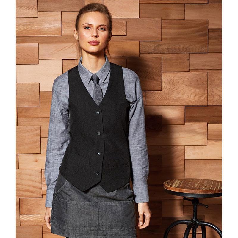 Premier Ladies Lined Waistcoat