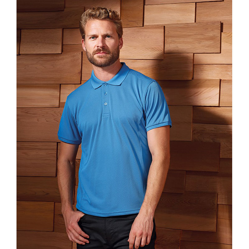 Premier Coolchecker® Plus Piqué Polo Shirt
