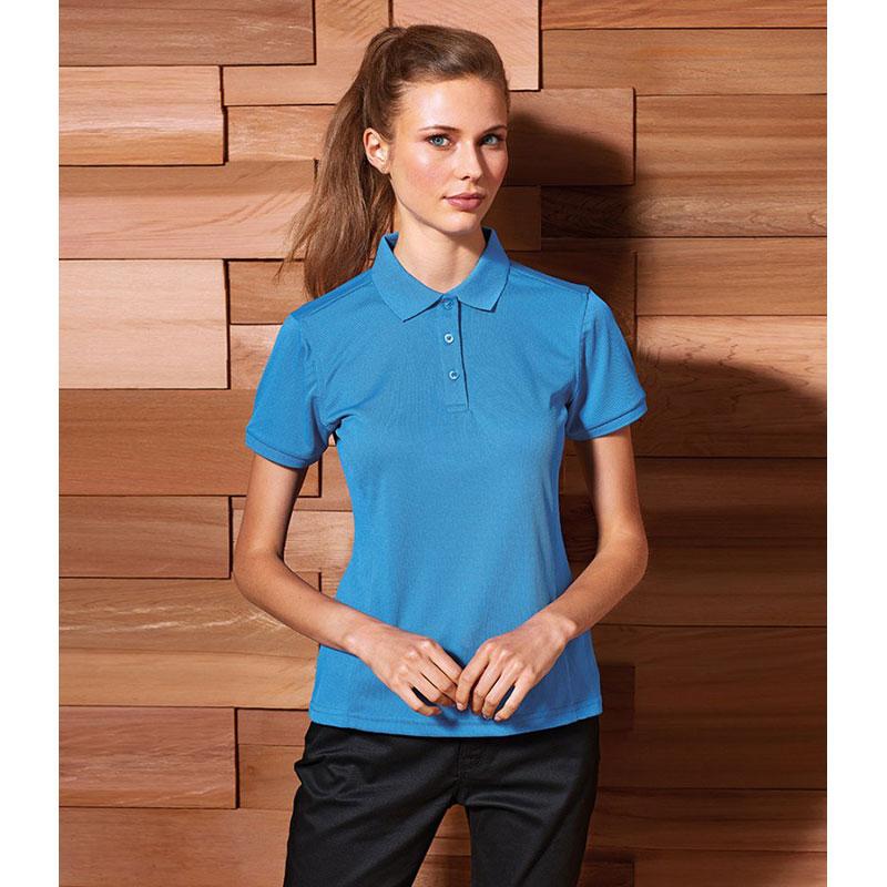 Premier Ladies Coolchecker® Plus Piqué Polo Shirt