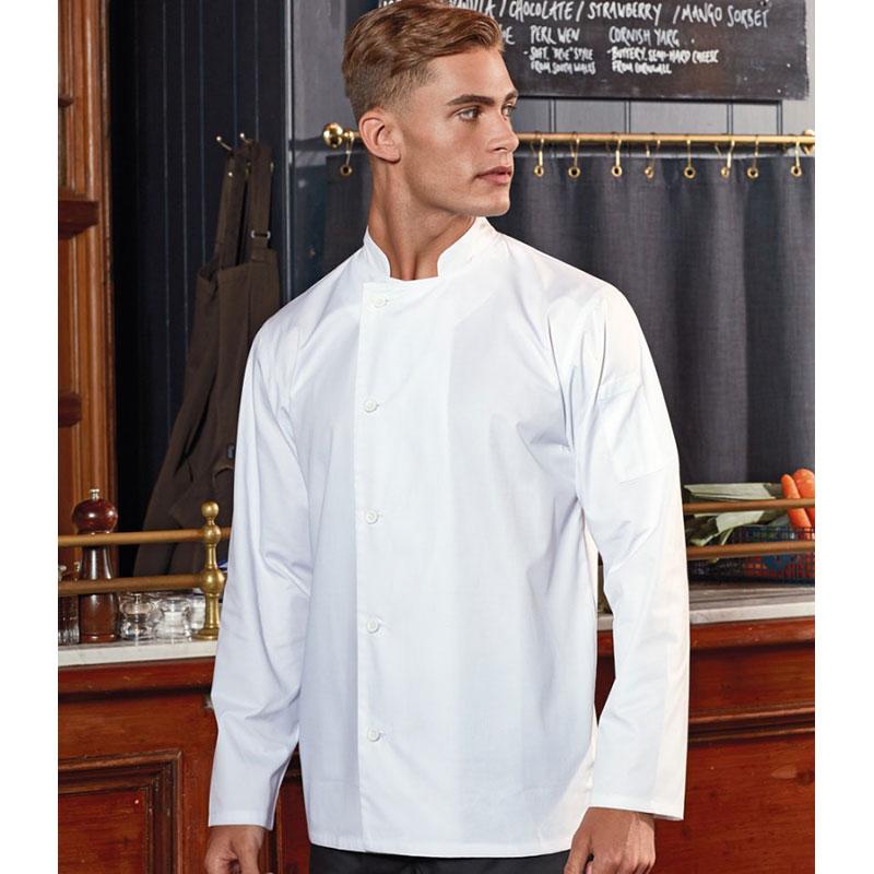 Premier Essential Long Sleeve Chef's Jacket