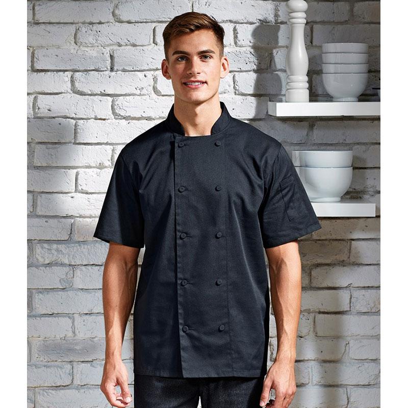 Premier Coolchecker® Short Sleeve Chef's Jacket