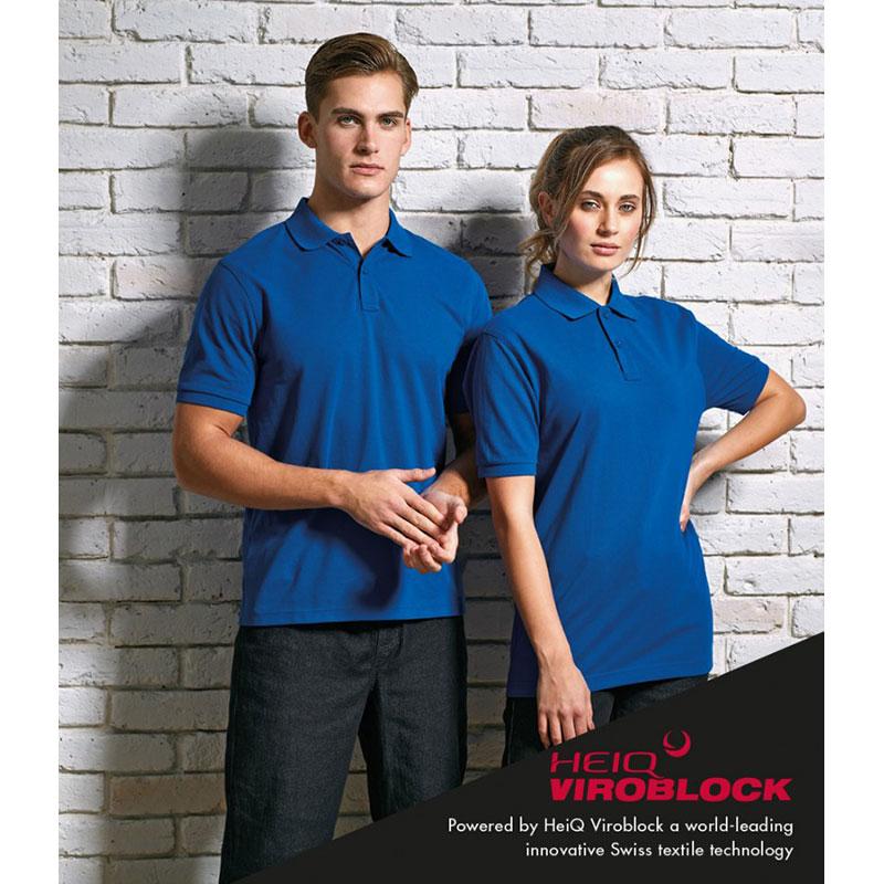 Premier HeiQ Viroblock Unisex Polo Shirt