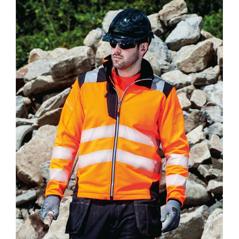 Portwest PW3 Hi-Vis Soft Shell Jacket