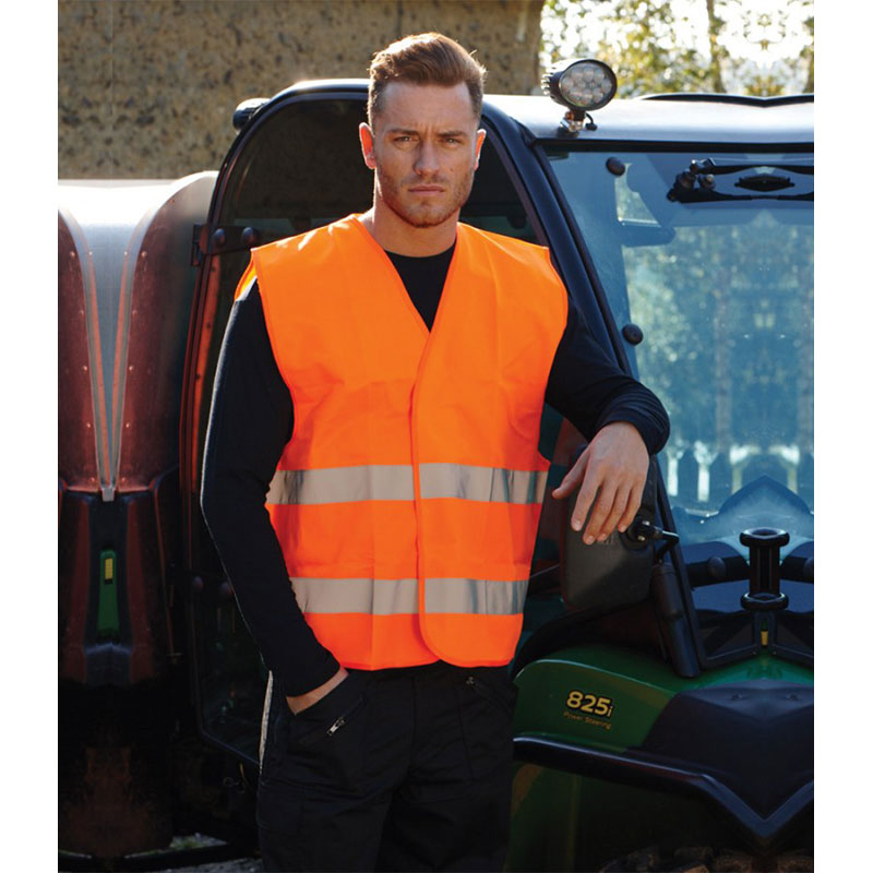 Portwest Hi-Vis Two Band Vest
