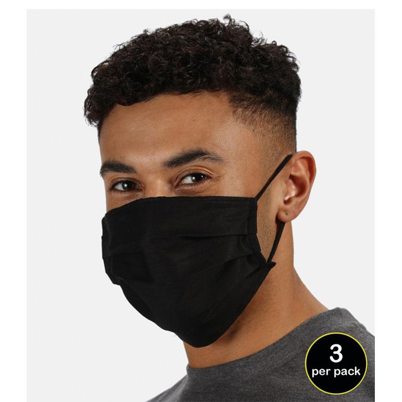 Regatta Three Layer Anti-Bacterial Face Cover