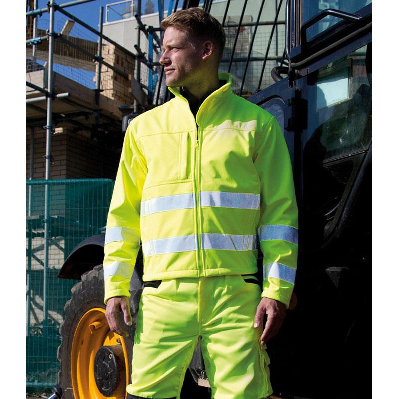 Result Safe-Guard Hi-Vis Soft Shell Jacket