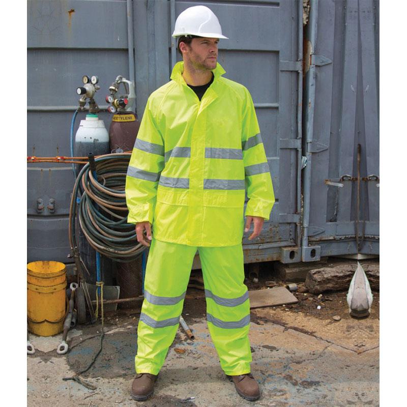 Result Safe-Guard Hi-Vis Waterproof Suit