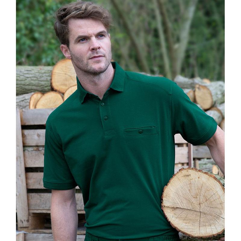 Result Work-Guard Apex Pocket Piqué Polo Shirt