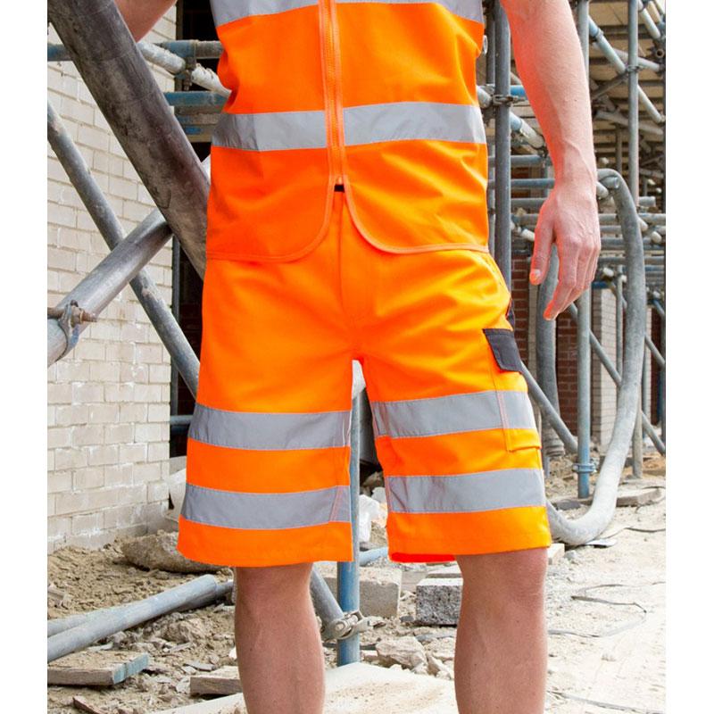 Result Safe-Guard Hi-Vis Cargo Shorts