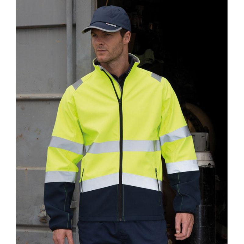 Result Safe-Guard Printable Safety Soft Shell Jacket