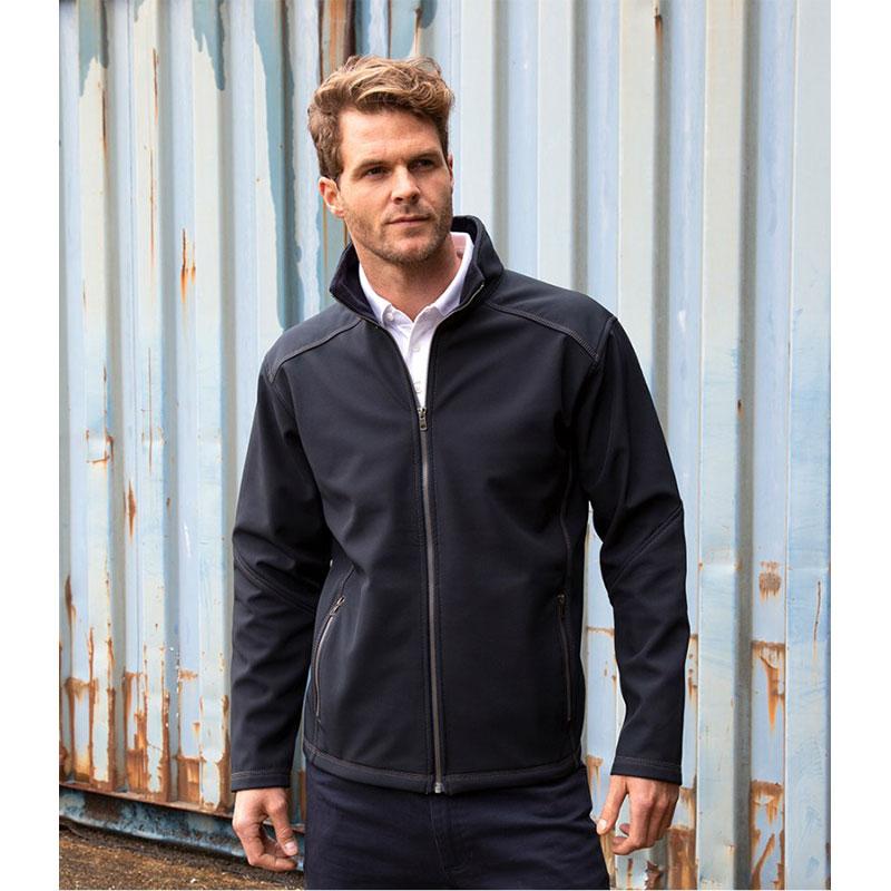 Result Work-Guard Treble Stitch Soft Shell Jacket