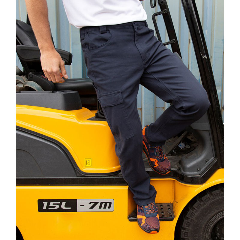 Result Work-Guard Super Stretch Slim Chino Trousers