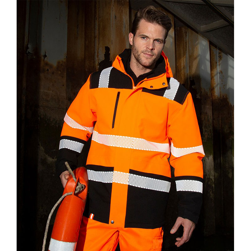 Result Safe-Guard Extreme Tech Printable Soft Shell Safety Jacket