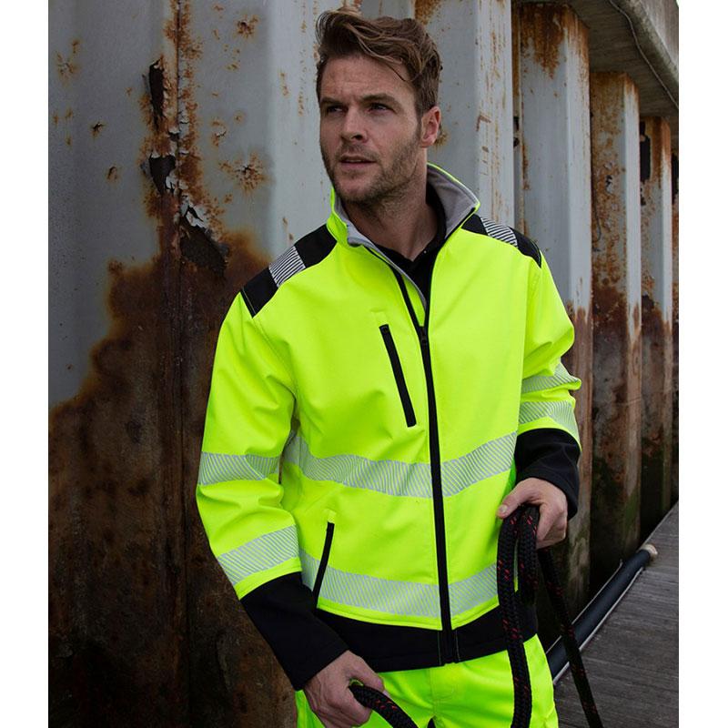 Result Safe-Guard Printable Ripstop Safety Soft Shell Jacket