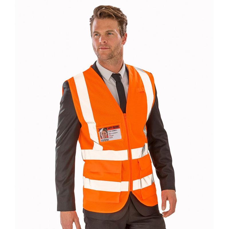 Result Safe-Guard Executive Cool Mesh Safety Vest