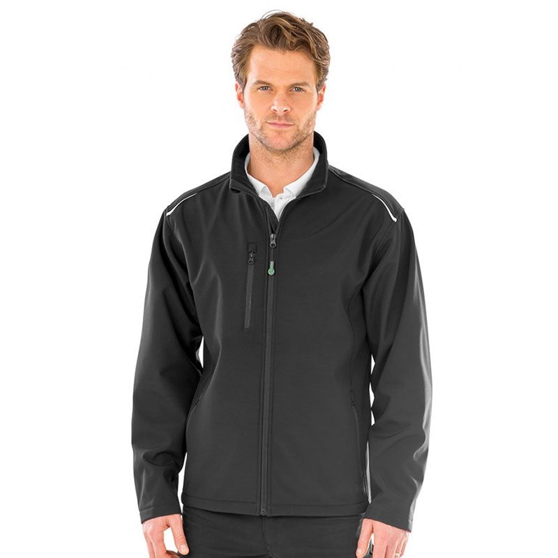 Result Genuine Recycled Three Layer Printable Soft Shell Jacket