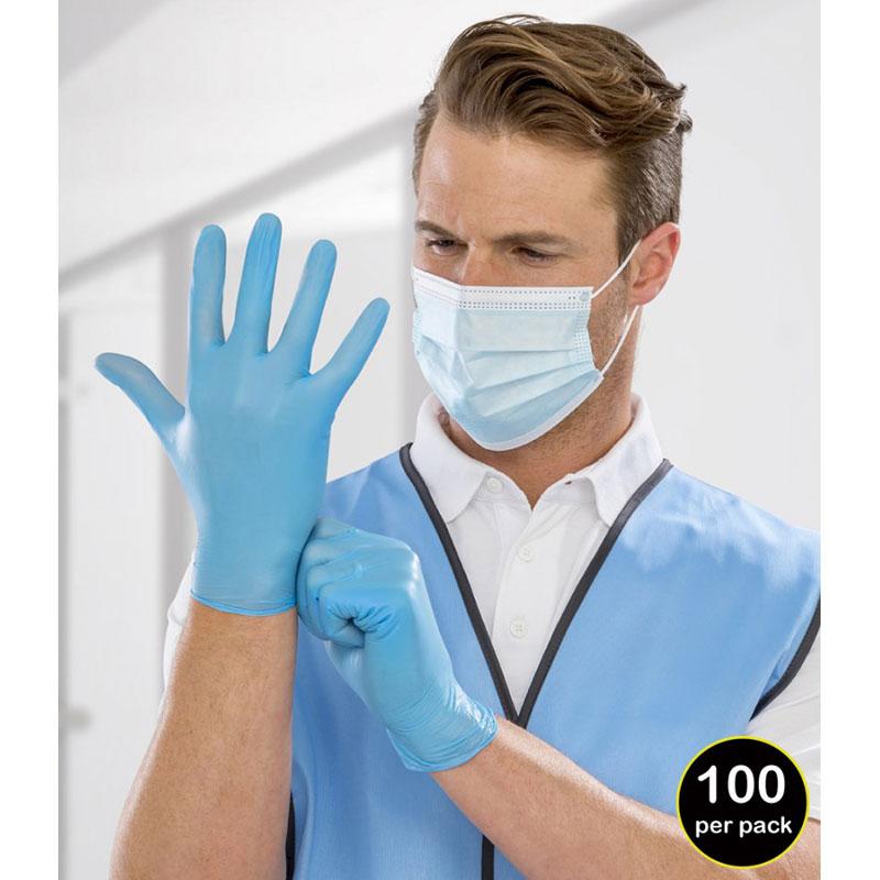 Result Disposable Medical Vinyl Examination Gloves