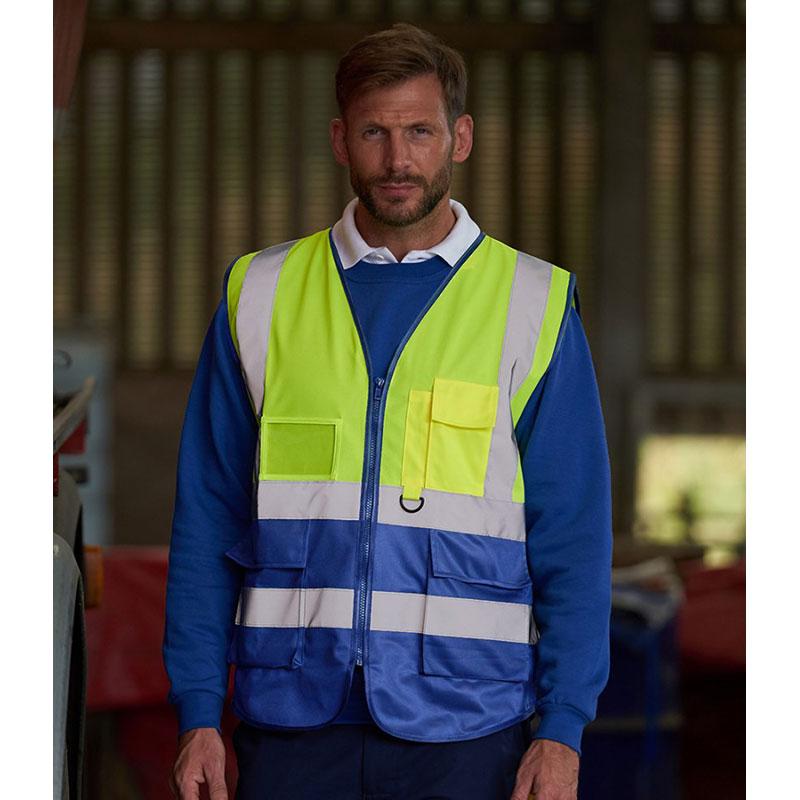 Pro RTX High Visibility Executive Waistcoat